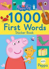 Omslag - Peppa Pig: 1000 First Words Sticker Book