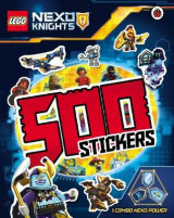Omslag - LEGO Nexo Knights: 500 Stickers