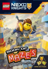 Omslag - LEGO Nexo Knights: Book of Mazes