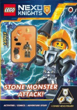 Omslag - LEGO NEXO KNIGHTS: Stone Monster Attack!