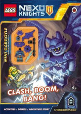 Omslag - LEGO NEXO KNIGHTS: Clash, Boom, Bang! Activity Book