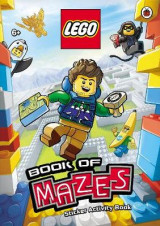 Omslag - LEGO Book of Mazes Sticker Activity Book