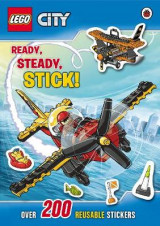 Omslag - LEGO City: Ready, Steady, Stick Sticker Book