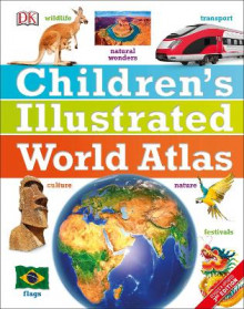 Children's Illustrated World Atlas av DK (Innbundet)