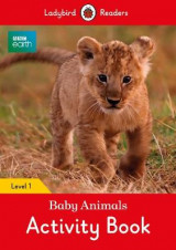 Omslag - BBC Earth: Baby Animals Activity Book - Ladybird Readers Level 1