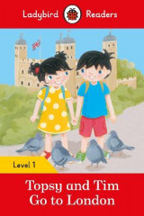 Omslag - Topsy and Tim: Go to London - Ladybird Readers Level 1