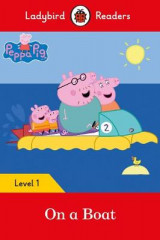Omslag - Peppa Pig: On a Boat - Ladybird Readers Level 1