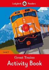 Omslag - Great Trains Activity Book - Ladybird Readers Level 2