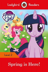 Omslag - My Little Pony: Spring is Here! - Ladybird Readers Level 2