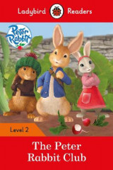 Omslag - Peter Rabbit: The Peter Rabbit Club - Ladybird Readers Level 2