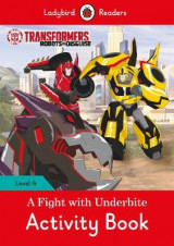 Omslag - Transformers: Title 3 Activity Book - Ladybird Readers Level 4