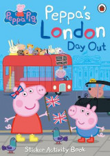 Omslag - Peppa's London Day Out Sticker Activity Book