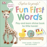 Omslag - Sophie la girafe Fun First Words