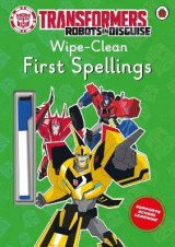 Omslag - Transformers: Robots in Disguise - Wipe-Clean First Spellings