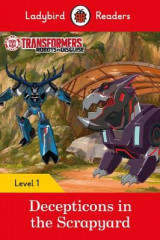 Omslag - Transformers: Decepticons in the Scrapyard- Ladybird Readers Level 1