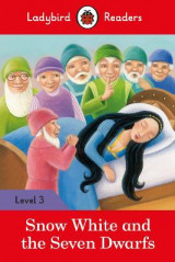 Omslag - Snow White and the Seven Dwarfs - Ladybird Readers Level 3
