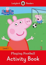 Omslag - Peppa Pig: Playing Football Activity Book- Ladybird Readers Level 2