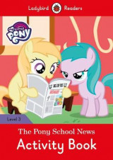 Omslag - My Little Pony: The Pony School News Activity Book- Ladybird Readers Level 3