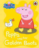 Omslag - Peppa Pig: Peppa and her Golden Boots