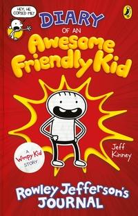 Diary of an awesome friendly kid av Jeff Kinney (Innbundet)