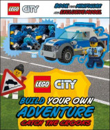 Omslag - LEGO City Build Your Own Adventure Catch the Crooks