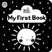 Baby Touch: My First Book: a black-and-white cloth book av Ladybird (Tekstilbok)