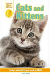 DK Reader Level 2: Cats and Kittens av Caryn Jenner (Innbundet)