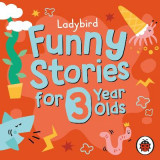 Omslag - Ladybird Funny Stories for 3 Year Olds