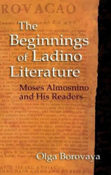 Omslag - The Beginnings of Ladino Literature
