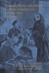 Omslag - Philanthropic Discourse in Anglo-American Literature, 1850-1920