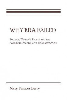 Why ERA Failed av Mary Frances Berry (Heftet)