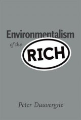 Omslag - Environmentalism of the Rich