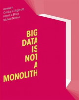 Omslag - Big Data is Not a Monolith