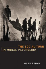 Omslag - The Social Turn in Moral Psychology