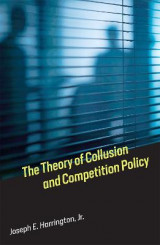 Omslag - The Theory of Collusion and Competition Policy