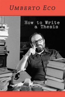 How to Write a Thesis av Umberto Eco (Heftet)
