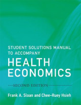 Omslag - Student Solutions Manual to Accompany Health Economics