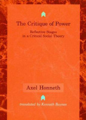 The Critique of Power av Axel Honneth (Heftet)