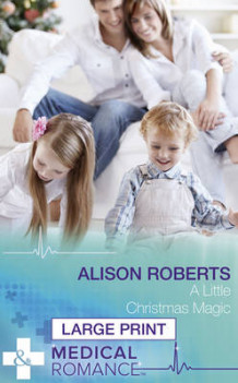 A Little Christmas Magic av Alison Roberts (Innbundet)