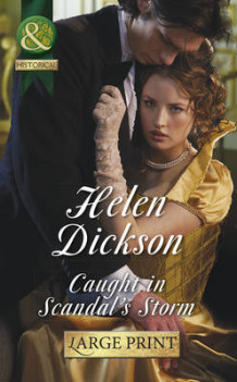 Caught in Scandal's Storm av Helen Dickson (Innbundet)