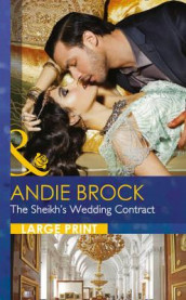 The Sheikh's Wedding Contract av Andie Brock (Innbundet)