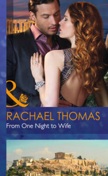 From One Night to Wife av Rachael Thomas (Innbundet)