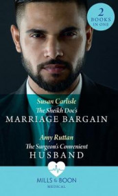 The Sheikh Doc's Marriage Bargain av Susan Carlisle og Amy Ruttan (Heftet)
