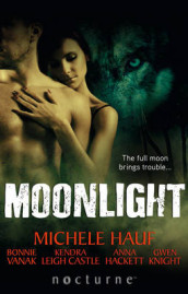 Moonlight av Anna Hackett, Michele Hauf, Gwen Knight, Kendra Leigh Castle og Bonnie Vanak (Heftet)