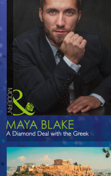 A Diamond Deal with the Greek av Maya Blake (Heftet)