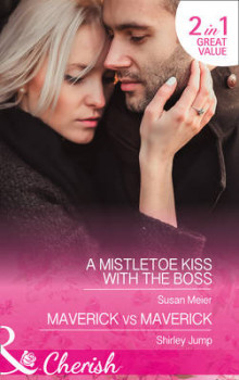 A Mistletoe Kiss with the Boss av Susan Meier og Shirley Jump (Heftet)