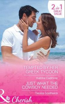 Tempted By Her Greek Tycoon av Katrina Cudmore og Teresa Southwick (Heftet)