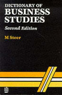 Dictionary of Business Studies av M. Steer (Heftet)