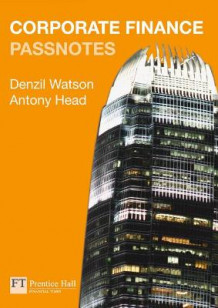 Corporate Finance Passnotes av Denzil Watson og Antony Head (Heftet)