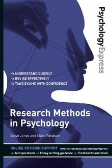 Psychology Express: Research Methods in Psychology (Undergraduate Revision Guide) av Steve Jones og Mark Forshaw (Heftet)